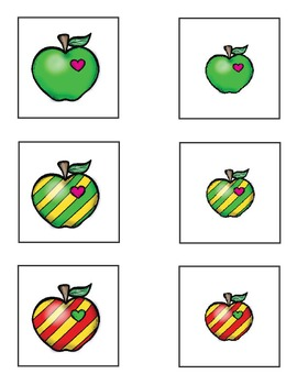 Attribute Cards - Apples!  Tools for Comparing and Classifying Attributes