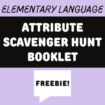 Attribute Scavenger Hunts Booklet