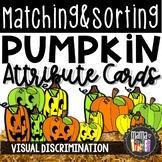 Attribute Sorting: Pumpkin Sorting Math Center {Prek-1}