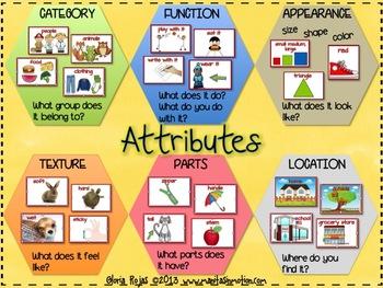 Attributes – A Describing Tool (FREEBIE)
