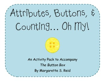 Attributes, Buttons, and Counting: The Button Box Activity Pack