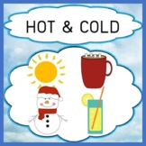 Opposites - Hot & Cold Concept Vocabulary Discrimination T