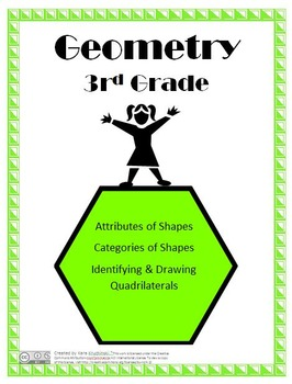Attributes and Categories of Shapes Free Lesson Plan - 3rd Grade