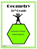 Attributes and Categories of Shapes Lesson Plans - 3rd Grade
