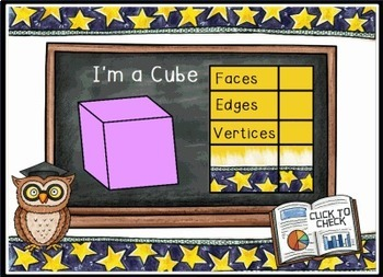 Attributes of 3D Geometric Shapes Smart Notebook Lesson