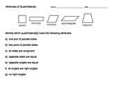 Attributes of Quadrilaterals