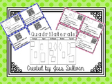 Attributes of Quadrilaterals {QR Code Task Cards}