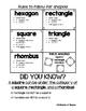 Attributes of Shapes-MEGA Pack!