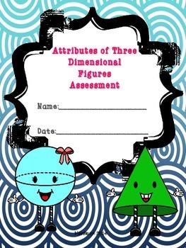 Attributes of Three Dimensional Figures Quiz