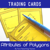 2D Shapes: Attributes of Triangles, Quadrilaterals and other Polygons