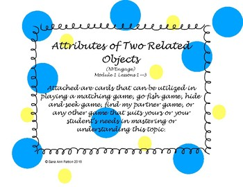 Attributes of Two Related Objects