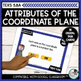 Attributes of the Coordinate Plane   Boom Cards Distance Learning