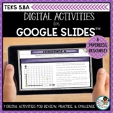 Attributes of the Coordinate Plane | Digital Math Activities Distance Learning