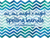 Au, Aw, Aught & Ought Spelling Resources