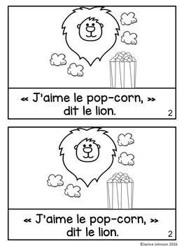 Au Cirque ~ French Circus Animal Reader {en français}