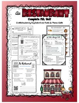 Au Restaurant - French Unit