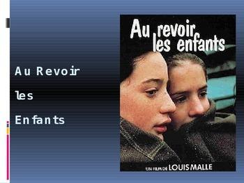Au Revoir Les Enfants ppt