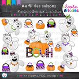 Au fil des saisons-Fantômettes aux emplettes/Halloween sho