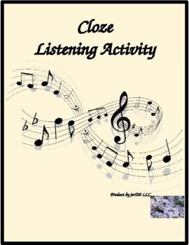 Au parc Monceau song by Yves Duteil Cloze listening activity