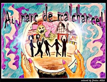 Au parc de malchance - French CI / TPRS - reflexive verbs passé composé & imp
