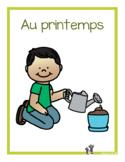 Au printemps (emergent readers)