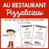 Au restaurant Pizzalicieux