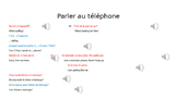 Au téléphone PPpt Discovering French Unit 3 Lesson 5
