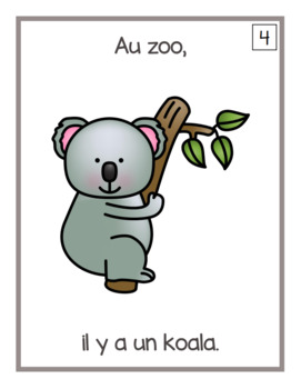 Au zoo (emergent readers)