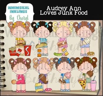 Aubrey Ann Loves Junk Food Clipart Collection