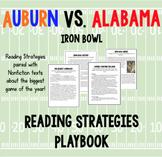 Auburn vs. Alabama Reading Strategies Playbook