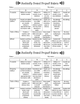 Audacity Sound Project