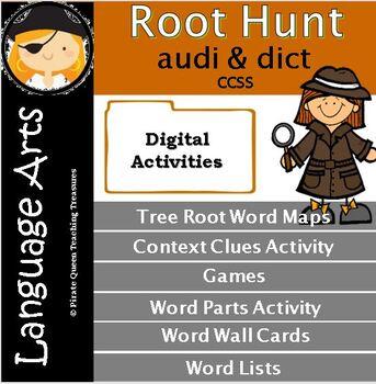 Audi, Dict Root Clues/Common Core Aligned