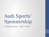 Audi Sports' Sponsorship