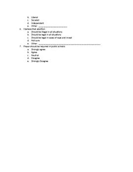 Audience Analysis Assignment (Speech)