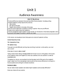 Audience Awareness and the 5-Paragraph Essay