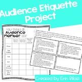 Audience Etiquette Project