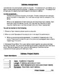 Audience Etiquette Tableau Project