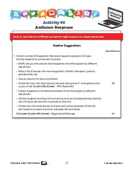 Audience Response Lesson Plan Grades 2-3 - Aligned to Common Core