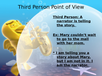 Audience and Author's Point of View Power Point