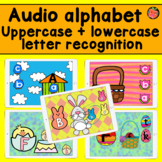 Audio Alphabet   Upper and lower case letter recognition b