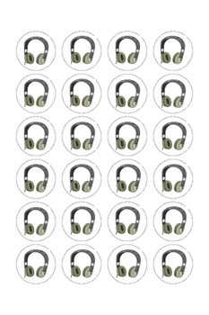 Audio Book Labels