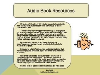 Audio Book Resources