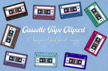 Audio Cassette Clipart