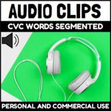 Audio Clips for Segmented CVC Words Sound Files for Digita
