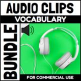 Audio Clips Vocabulary Endless Bundle Sound Files for Digi