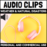 Audio Clips Weather and Natural Disasters Vocabulary Words
