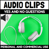 Audio Clips Yes or No Questions Sound Files for Digital Ac