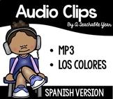 Audio Files Colors | Spanish | Free
