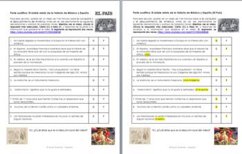 Audio Identidades personales y públicas. Ap Spanish. La Malinche y la conquista.