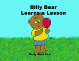 Picture Book Video BILLY BEAR LEARNS A LESSON (Bullying)